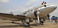 The Spirit of Benovia (Schwanzus_Longus) Tags: fassberg fasberg german germany us usa america american old classic vintage aviation aircraft plane airplane douglas dc3 dc3a spirit benovia