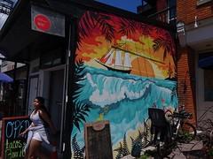 Graffiti, an art form ( 5 of 6) (Trinimusic2008 -blessings) Tags: trinimusic2008 judymeikle urban kensingtonmarket colour summer june 2019 gratitude thanks sunny toronto to ontario canada graffiti murals streetart commissionedart art sunshine