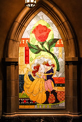Tale as Old as Time (jenelle.melchior) Tags: beauty beast disney world magic kingdom be our guest restaurant mosaic art canon