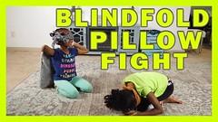 BLINDFOLD PILLOW FIGHT CHALLENGE | ADAN SISTERS (adansisters) Tags: blindfold pillow fight challenge | adan sisters