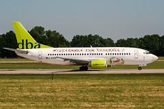 D-AGEB (PlanePixNase) Tags: aircraft airport planespotting haj eddv hannover langenhagen boeing 737 b733 737300 dba