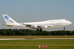 TF-AMK (PlanePixNase) Tags: aircraft airport planespotting haj eddv hannover langenhagen boeing 747300 b743 747 jumbo xlcom airatlantaicelandic