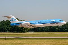PH-WXD (PlanePixNase) Tags: aircraft airport planespotting haj eddv hannover langenhagen fokker f70 klm cityhopper