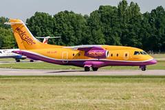 OE-LJR (PlanePixNase) Tags: aircraft airport planespotting haj eddv hannover langenhagen welcomeair dornier do328 do328jet