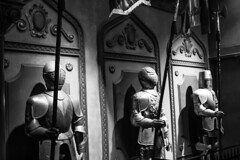If it isn't Baroque, Don't Fix It (jenelle.melchior) Tags: knight disney world be our guest beauty beast black white monochrome baroque canon magic kingdom