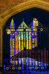 Cambridge May Balls: Selwyn (Sir Cam @camdiary) Tags: cambridge cambridgeuniversity mayball 2019 night selwyncollege chapel gate