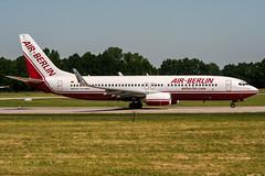 D-ABAN (PlanePixNase) Tags: aircraft airport planespotting haj eddv hannover langenhagen boeing b738 737800 737 airberlin