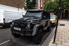 Brabus G 63 4x4 ^2 (Hunter J. G. Frim Photography) Tags: supercar london uk mercedesbenz g63 4x4 2 black german v8 turbo carbon coupe mercedesbenzg63 g634x4 brabus