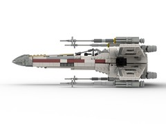 T-65 Incom X-Wing Starfighter 1s=f Red Five: Side (picardsbricks) Tags: lego starwars lukeskywalker anewhope xwing t65 r2d2 yavin4