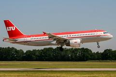 OE-LTU (PlanePixNase) Tags: aircraft airport planespotting haj eddv hannover langenhagen ltu airbus 320 a320