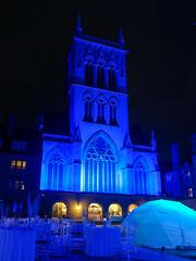 Cambridge May Balls: St John's (Sir Cam @camdiary) Tags: cambridge cambridgeuniversity mayball 2019 night stjohnscollege chapel