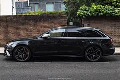 Audi RS6 C7 Avant (Hunter J. G. Frim Photography) Tags: supercar london uk audi rs6 c7 awd avant black turbo german v8 audirs6 audirs6c7