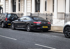 Mercedes-Benz S63 AMG (Hunter J. G. Frim Photography) Tags: supercar london uk mercedesbenz s63 amg black v8 turbo coupe german mercedesbenzs63amg