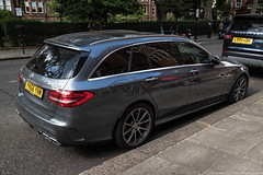 Mercedes-Benz C63 AMG Wagon (Hunter J. G. Frim Photography) Tags: supercar london uk mercedesbenz e63 amg wagon v8 german silver awd mercedesbenze63amg mercedesbenze63amgwagon avant