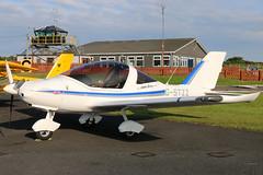 G-STZZ (GH@BHD) Tags: gcglz tlultralighttl2000ukstingcarbon tlultralight tl2000uk stingcarbon ulsterflyingclub newtownardsairfield newtownards microlight aircraft aviation