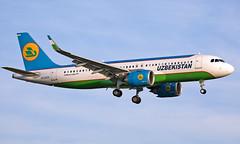 UK32021 - Airbus A320-251N - LHR (Seán Noel O'Connell) Tags: uzbekistanairways uk32021 airbus a320251n a320 a20n heathrowairport heathrow lhr egll tas uttt hy201 uzb201 aviation avgeek aviationphotography planespotting