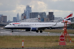 G-LCYT Embraer ERJ-190SR (ERJ-190-100 SR) of British Airways at London City Airport (Ian Press Photography) Tags: glcyt embraer erj190sr erj190100 sr british airways london city airport lcy plane planes aircraft airliner transport jet jets erj190 emb190 190 emb