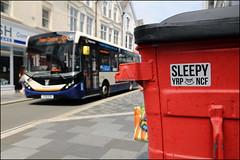 Sleepy (Alex Ellison) Tags: sleep sleepy yrp ncf sticker pontypridd wales uk urban graffiti graff boobs