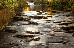 Flowing seconds... (majestiele.co.uk) Tags: water long exposure wales bargoed rhymney river woodland park nature