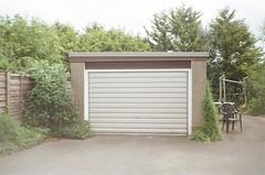Garage test shot (bigalid) Tags: film 35mm minolta f25 plastic c41 may 2019 dumfries fixedfocus