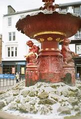 Fountain (bigalid) Tags: film 35mm minolta plastic f25 may dumfries c41 2019 fixedfocus