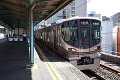 xxx 43 JR-West 323-1 (LS01), Fukushima (Osaka Loop Line) (Howard_Pulling) Tags: 323 class323 323series emu osaka osakaloop japan kansai rail railway zug bahn bahnhof gare station
