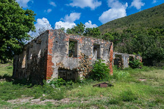 Fixer Upper (tquist24) Tags: nikon nikond5300 outdoor stthomas usvirginislands virginislands architecture building clouds geotagged hill island outside ruins sky tree trees tropical