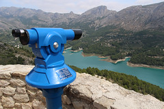 The View of the Lake (big_jeff_leo) Tags: spain view landscape lake mountains europe