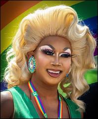 TD Queen (Rodrick Dale) Tags: td queen drag blond pride toronto ontario canada