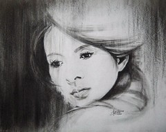 MOMENT (Sketchbook0918) Tags: zhangziyi actress charcoal portrait drawing paper beautiful art fineart