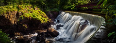 Yantic Falls Panoramic (Simmie | Reagor - Simmulated.com) Tags: 2019 connecticut connecticutphotographer d750 falls indianleapfalls june landscapephotographer naturephotographer newengland nikon northeast norwichfalls park summer uncasleapfalls waterfalls yantic yanticfalls cascades digital norwich unitedstatesofamerica greatphotographers