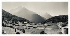 Everest base camp trek (Gerry McDermott) Tags: travel nepal himalayas bw mountains