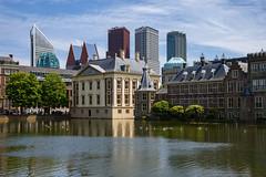 Den Haag (Julysha) Tags: denhaag architecture 2019 thenetherlands city acr pond summer june d7200 nikkor1680284 sunny skyline
