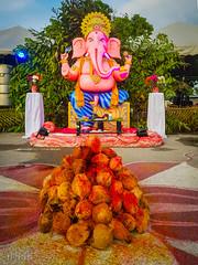 20190607_191303 (inkid) Tags: ganesha elephant god indian festival coconut praying pray