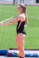 2019_TNR_PVW_0470 (Knox Triathlon Dude) Tags: woman usa college sports beautiful female women university pretty track legs briefs varsity polevault athlete fitness meet trackandfield 2019 bunhuggers