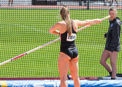 2019_TNR_PVW_0465 (Knox Triathlon Dude) Tags: 2019 woman women university sports polevault trackandfield fitness varsity briefs bunhuggers legs beautiful pretty athlete female college track meet usa