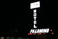 Palomino Motel, Sanford, NC (joseph a) Tags: northcarolina sign neonsign motel motelsign sanford sanfordnc tramway