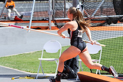 2019_TNR_PVW_0160 (Knox Triathlon Dude) Tags: 2019 woman women university sports polevault trackandfield fitness varsity briefs bunhuggers legs beautiful pretty athlete female college track meet usa