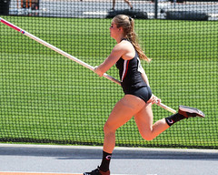 2019_TNR_PVW_0153 (Knox Triathlon Dude) Tags: 2019 woman women university sports polevault trackandfield fitness varsity briefs bunhuggers legs beautiful pretty athlete female college track meet usa