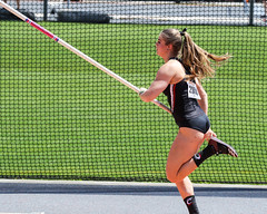 2019_TNR_PVW_0151 (Knox Triathlon Dude) Tags: 2019 woman women university sports polevault trackandfield fitness varsity briefs bunhuggers legs beautiful pretty athlete female college track meet usa