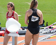 2019_TNR_PVW_0418 (Knox Triathlon Dude) Tags: 2019 woman women university sports polevault trackandfield fitness varsity briefs bunhuggers legs beautiful pretty athlete female college track meet usa