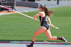2019_TNR_PVW_0814 (Knox Triathlon Dude) Tags: 2019 woman women university sports polevault trackandfield fitness varsity briefs bunhuggers legs beautiful pretty athlete female college track meet usa