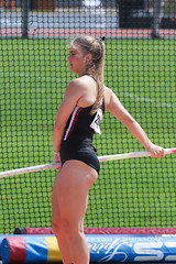 2019_TNR_PVW_0802 (Knox Triathlon Dude) Tags: 2019 woman women university sports polevault trackandfield fitness varsity briefs bunhuggers legs beautiful pretty athlete female college track meet usa