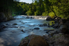 Judge C.R. Magney State Park 20190620-_DSC3149 (Prairieworks Pictures) Tags: bruleriver falls judgecrmagnystatepark lakesuperior minnesota northshore rivers streams waterfalls sony alpha sonyalpha a7riii zeiss loxia loxia235 landscape river water evening light