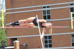 2019_TNR_PVW_0830 (Knox Triathlon Dude) Tags: 2019 woman women university sports polevault trackandfield fitness varsity briefs bunhuggers legs beautiful pretty athlete female college track meet usa