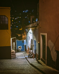 Guanajuato (bugeyed_G) Tags: méxico guanajuato unesco worldheritagesite historic hispanic colonial street night solitary citylife travel tourism