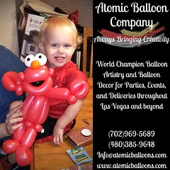 "Happy ""Too Cute Tuesday"" everyone! 🎈💖 #toocutetuesday #lasvegasballoonartist   Atomic Balloon Company brings World Champion Balloon Artistry and Balloon Decor to every party, event, and delivery throughout Las Vegas and beyond! (70 (Atomicballooncompany) Tags: lasvegasballoonartist balloonanimals balloons sesamestreet elmo lasvegasstrip themedevents balloondecor vegasballoonartist partyballoons lasvegaslocals partylasvegas vegaslocal balloonartist toocutetuesday lasvegasballoonart champion themeparty"