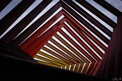 """Espacio escultórico de la UNAM-1 (""""Coatl"""" by Helen Escobedo) (LTL78) Tags: coatl helenescobedo unam cdmx méxico escultura sculpture espacioescultórico x100t fujifilm"""