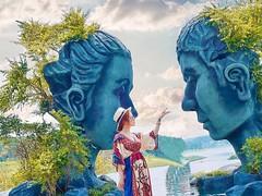 Check in Hồ Vô Cực ( Đà Lạt ) - nơi tình yêu bắt đầu (quynhchi19102016) Tags: ve may bay gia re di da lat