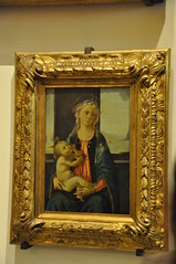 Madonna of the Sea (Ryan Hadley) Tags: galleriadellaccademiadifirenze galleriadellaccademia accademiagallery accademia artgallery museum art renaissance florence italy europe worldheritagesite painting botticelli madonna
